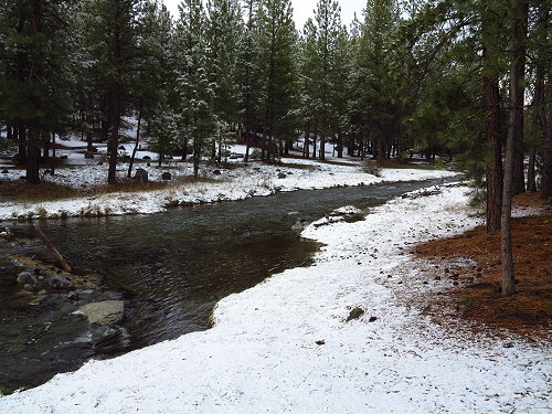 Camping at Paulina Creek 003