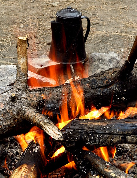 Camping at Paulina Creek 100