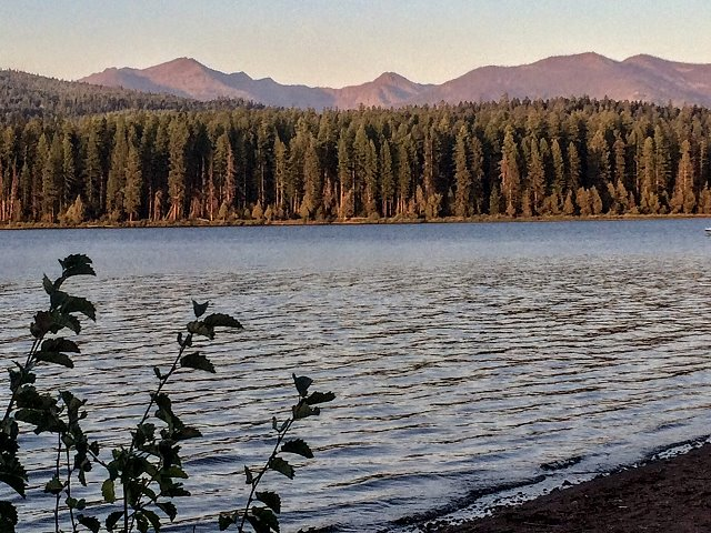 Evening at Seeley Lake