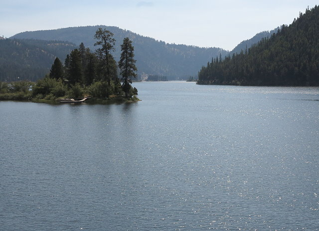 Another lake in the chain of lakes in the Seeley-Swan Valley