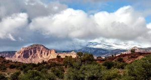 Snow at Capitol Reef – October 2018