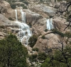 Waterfalls in Cochise Stronghold – March 2019